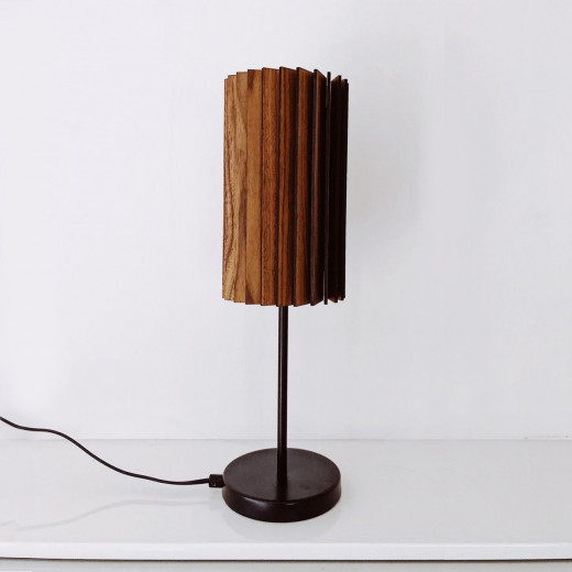 WOODLED ROTOR Table Lamp